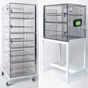 Acrylic Desiccator Cabinet with 4 & 2 Doors
