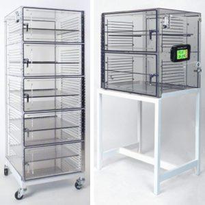 acrylic desiccator storage cabinets
