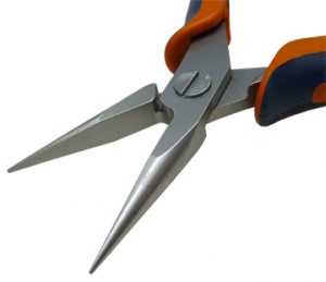 Long chain nose pliers