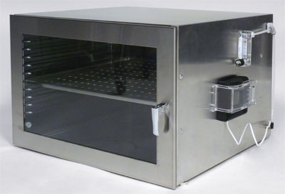 Single Chamber Stainless Steel Desiccator Cabinet