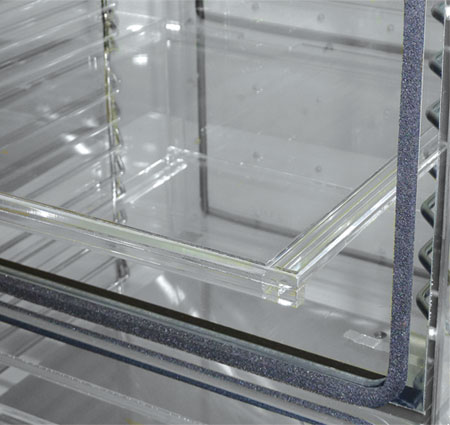 Solid Acrylic Shelves